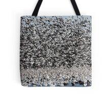 It's Snowing Geese  Tote Bag