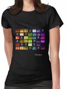 Beauty Contest V1 Womens Fitted T-Shirt