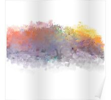 Colorful Trees  Poster