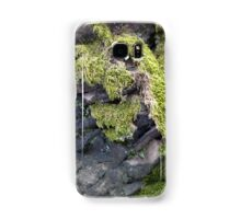 Moss on the rock Samsung Galaxy Case/Skin