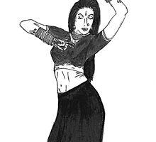 Kathak Dancer by Shoaib Zaheeruddin