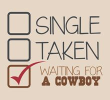 SINGLE TAKEN waiting for a COWBOY by jazzydevil