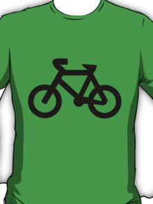 Bike in Black T-Shirt