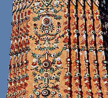 Mosaic Chedi by Dave Lloyd