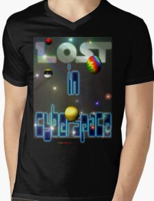 Lost In Cyberspace Mens V-Neck T-Shirt