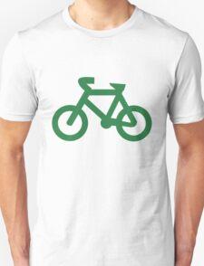 Bike in Green T-Shirt