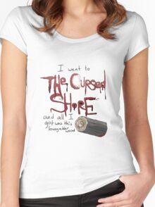 lousy elder wood Women's Fitted Scoop T-Shirt