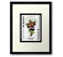 Skull Kid - Hylian Court Legend of Zelda Framed Print