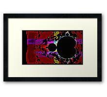 Glitch Fractal Ten Framed Print