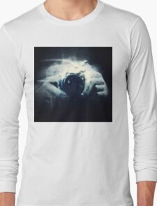 Hands and Light in Photography Long Sleeve T-Shirt