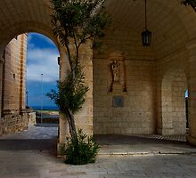 Mellieha Archway by Edwin  Catania