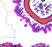 I LOVE KPOP SPIKE - PINK Sticker