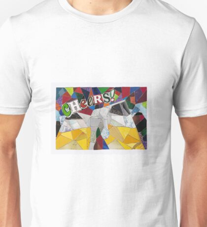 Cheers! English Salutation Beer Collage Unisex T-Shirt