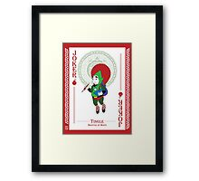 Tingle - Hylian Court Legend of Zelda Framed Print