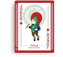 Tingle - Hylian Court Legend of Zelda Canvas Print