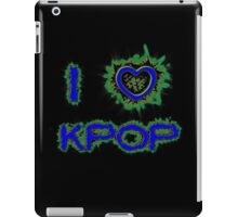 I LOVE KPOP SPIKE - BLUE iPad Case/Skin