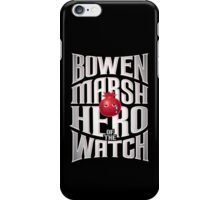 Bowen Marsh: Hero of the Watch iPhone Case/Skin