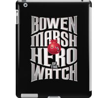 Bowen Marsh: Hero of the Watch iPad Case/Skin