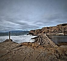 Ruins of the Sutro Baths by Gary Rondez