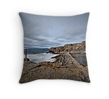 Ruins of the Sutro Baths Throw Pillow