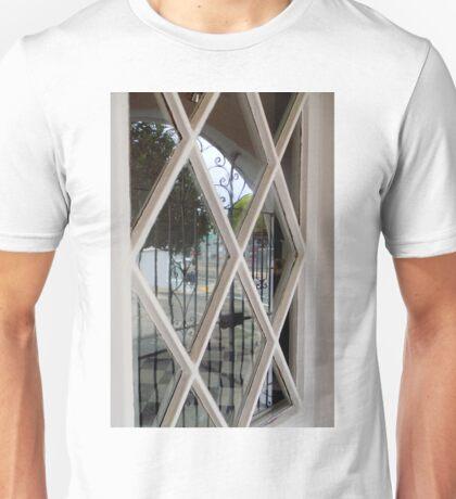 Checkerboard Sidewalk Unisex T-Shirt