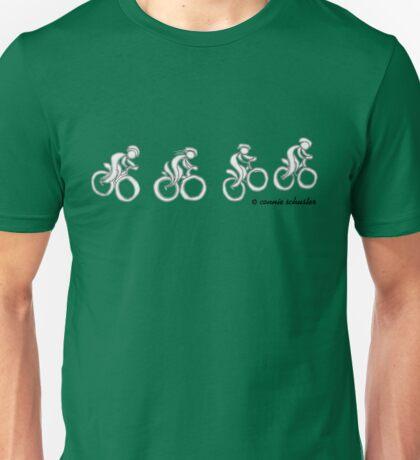 Happy Mountain Biker Unisex T-Shirt