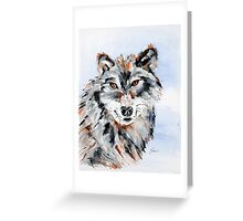 She Wolf - Animal Art by Valentina Miletic Greeting Card