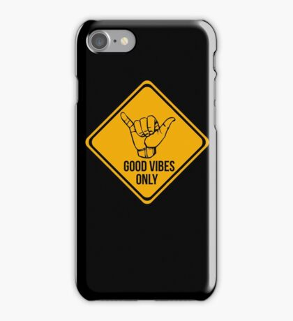 Cool surf - Funny warning sign iPhone Case/Skin