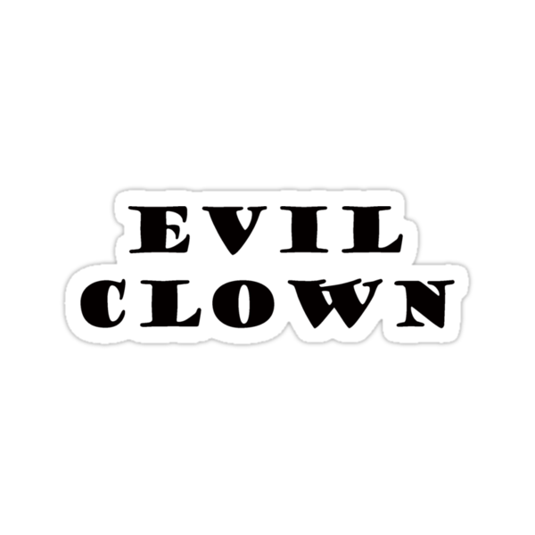 EVIL CLOWN by whittyart