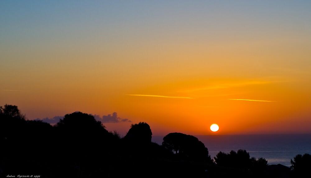 a beautiful sunrise by Andrea Rapisarda