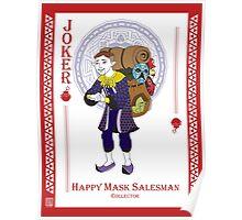 Happy Mask Salesman - Hylian Court Legend of Zelda Poster