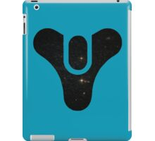 Destiny Logo - Galaxy (Black) iPad Case/Skin