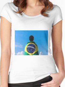 Brazilian Fanatic Women's Fitted Scoop T-Shirt