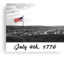July 4th, Canvas Print
