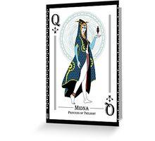 Midna - Hylian Court Legend of Zelda Greeting Card