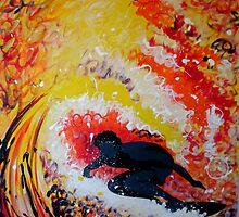 Rainbow Surf by Laura Fowler