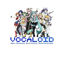 Vocaloids - New Singing Synthesis Technology Photographic Print