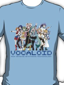 Vocaloids - New Singing Synthesis Technology T-Shirt