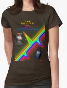 The Future Is So Yesterday - Doctor Who Womens Fitted T-Shirt