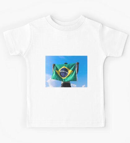 Brazilian Fan Kids Tee