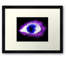 Ink Eye Framed Print