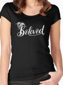 Beloved (White) Women's Fitted Scoop T-Shirt