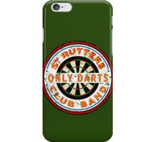Sgt Rutters Only Darts Club Band iPhone Case/Skin