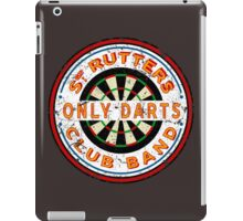 Sgt Rutters Only Darts Club Band iPad Case/Skin