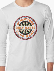 Sgt Rutters Only Darts Club Band Long Sleeve T-Shirt