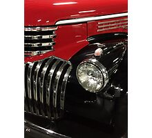 Classic 1946 Chevrolet Pickup Truck profile Photographic Print