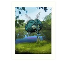 The Mournfly. Art Print