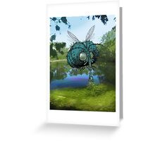 The Mournfly. Greeting Card