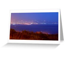 17 Lights from Afar Greeting Card