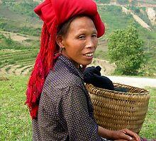 hill tribe lady by robertagiovedi
